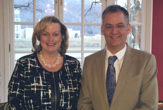 Beth Walker & WVTA Chairman, John Burns